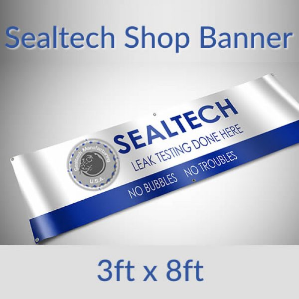 Sealtech Shop Banner 3×8 Foot