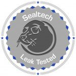"4"" Round Premium Vinyl Removable Sealtech Leak Tested Stickers"